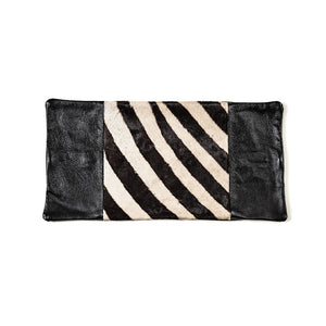 Zebra Hide Cushion Cover (Small) - Karoo Classics