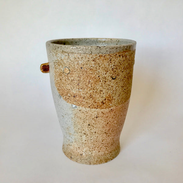Stoneware Happy | Pint Sized Cup