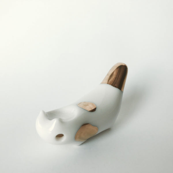 Spotted Kitty Cat Pipe