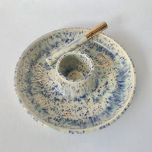 Load image into Gallery viewer, Speckled Blue | Round Smoke Tray