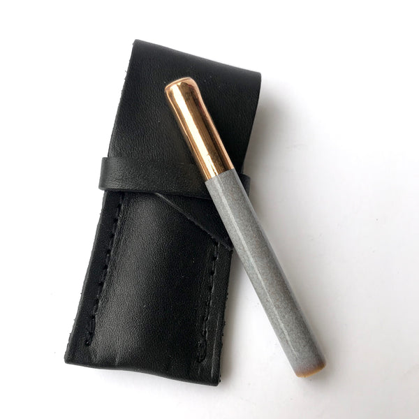 One Hitter + Leather Sheath | Sage