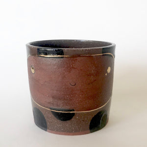 Happy Plant Pot | Black