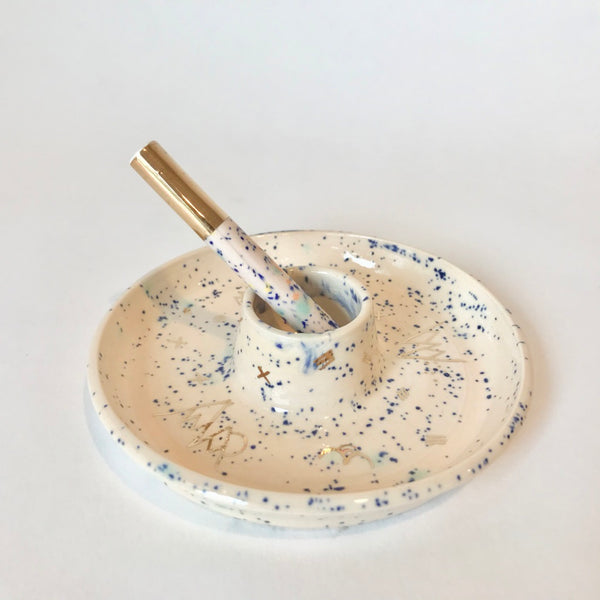 Speckled Pink + Blue | Ash Tray