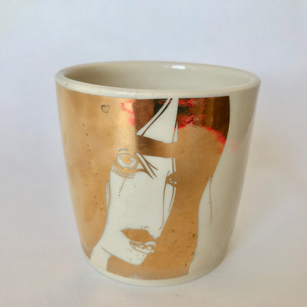 22k Gold  Long Haired Dude Cup