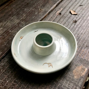 Celadon Cloud | Round Smoke Tray