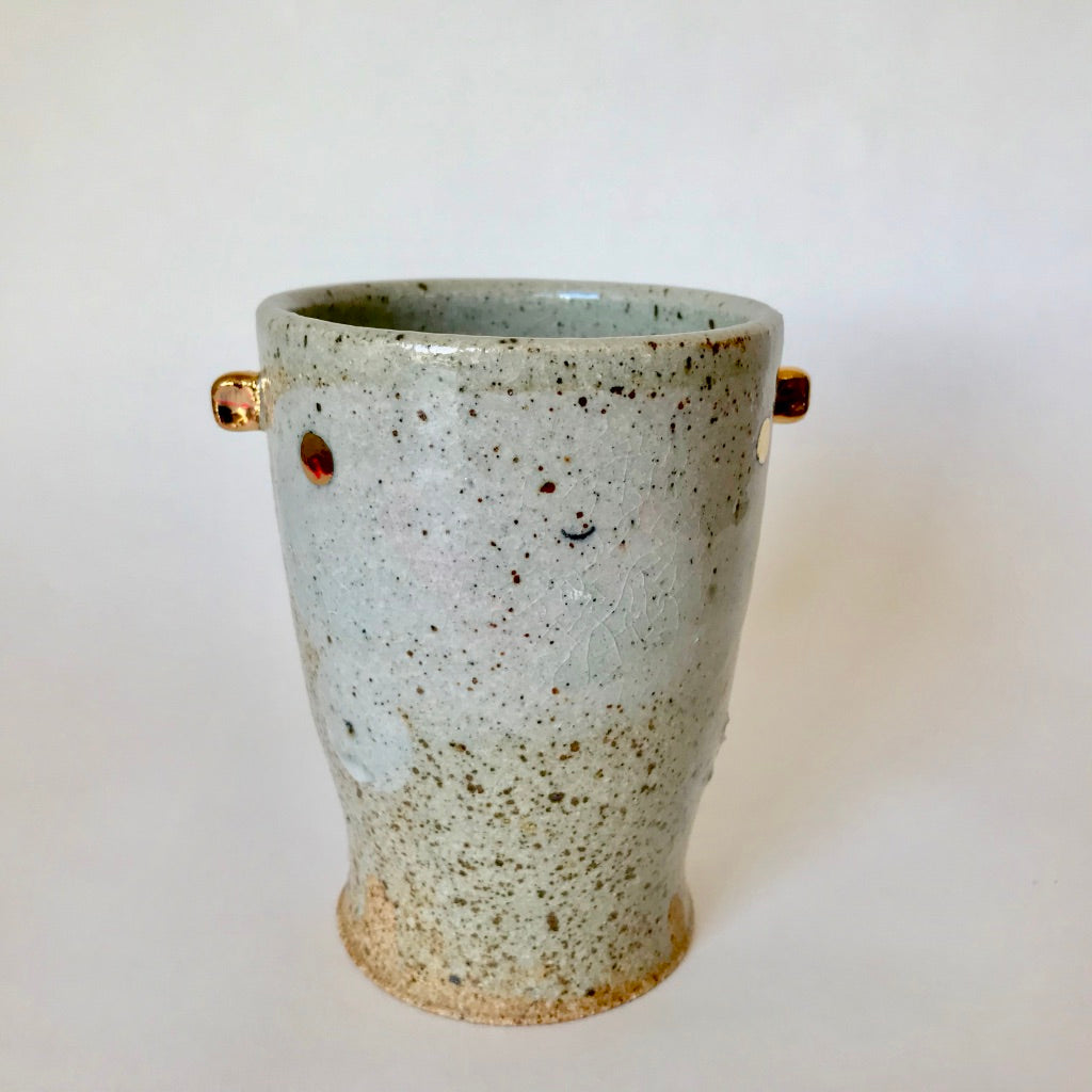 Stoneware Happy Polka Dot | Pint Sized Cup