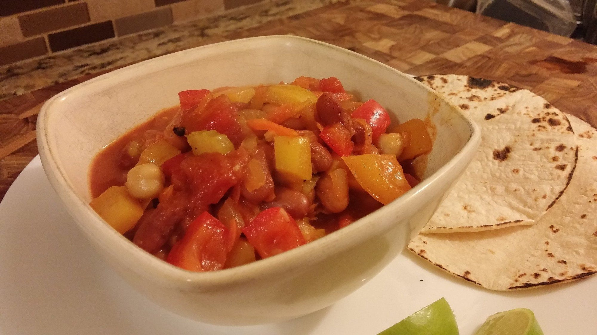 Chugwater Chili with Veggies