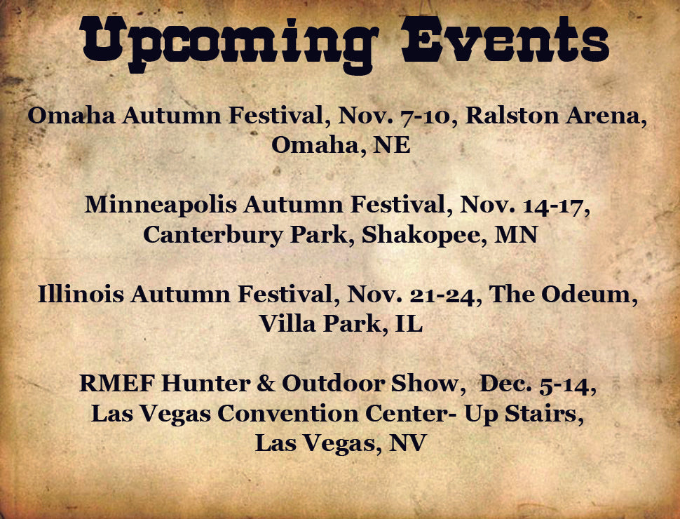 list of upcoming shows
