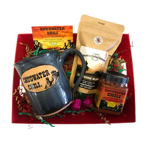 Coffee Lovers Basket Chugwater Chili