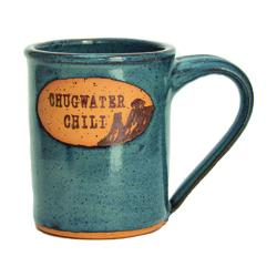 Coffee Mug Pine Cone Blue