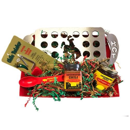 Jalapeno Lovers Basket Chugwater Chili