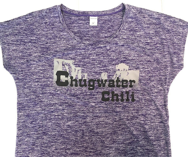 Ladies T-Shirt Chugwater Chili Products Chugwater Chili M Purple