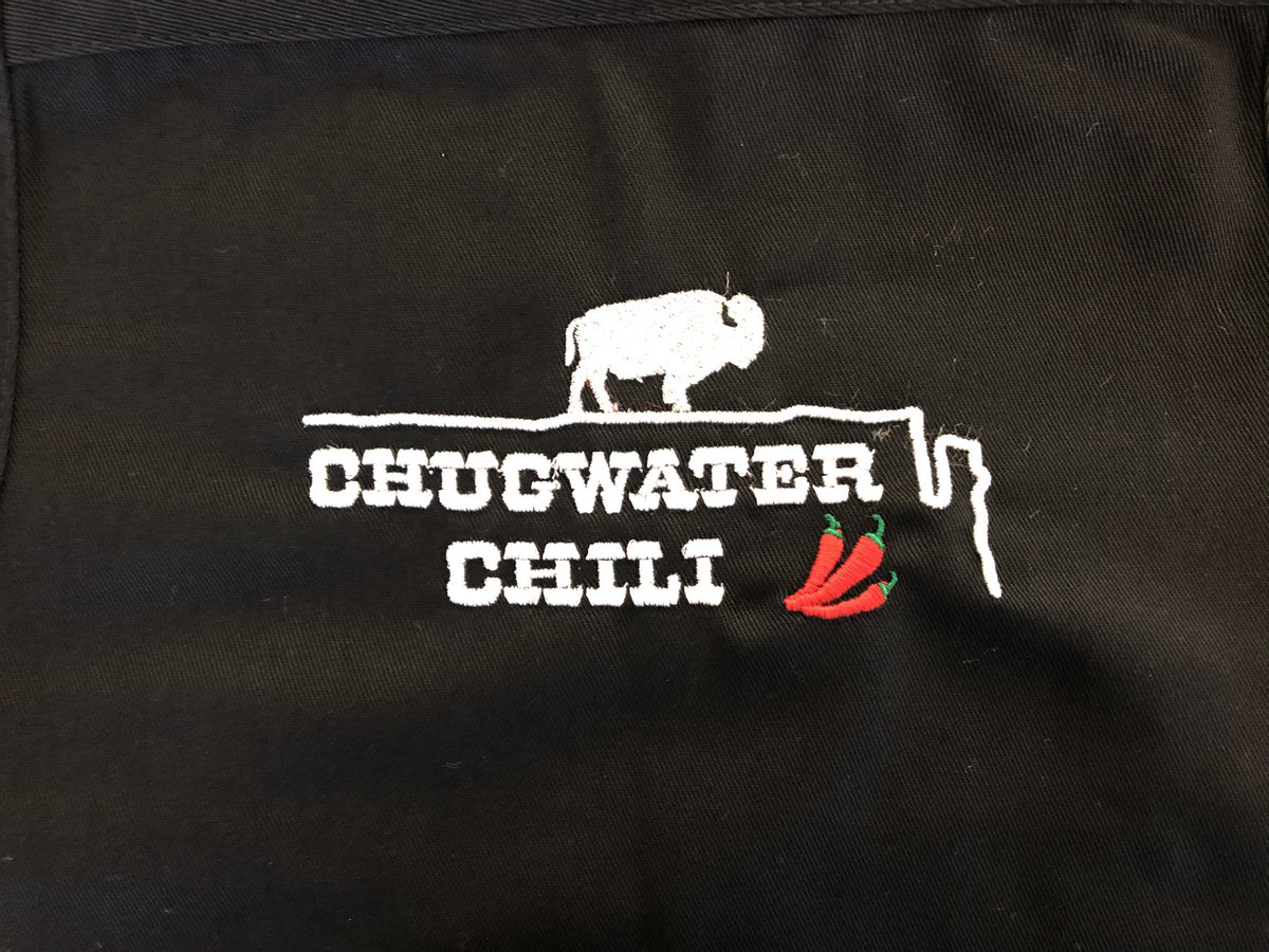 Men's Chugwater Chili Apron Chugwater Chili Black