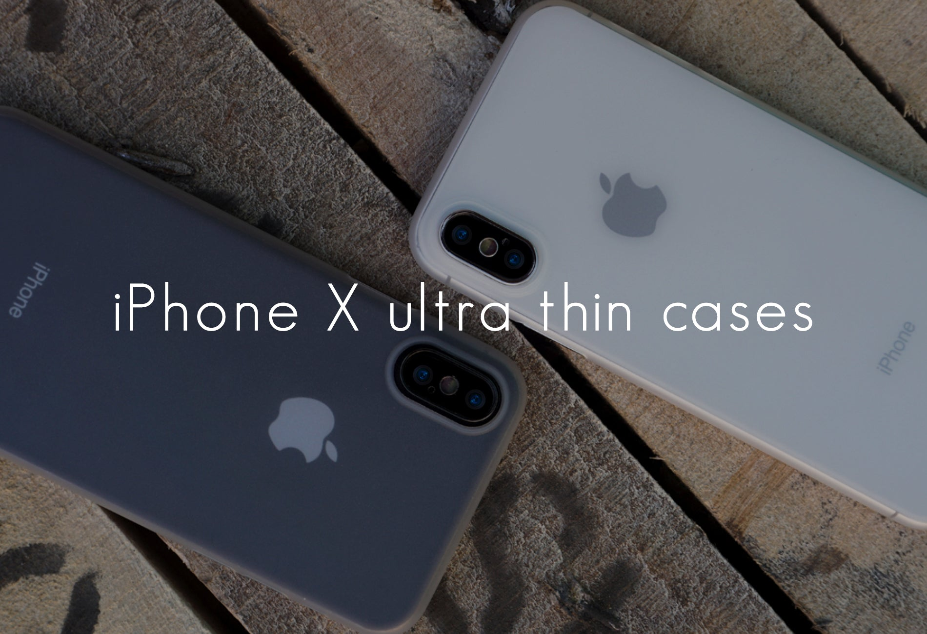 iPhone X ultra thin case Casedodo