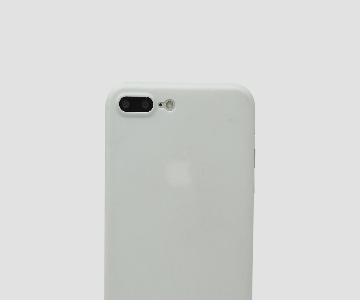 Classic White iPhone 7 Plus & 8 Plus ultra thin case