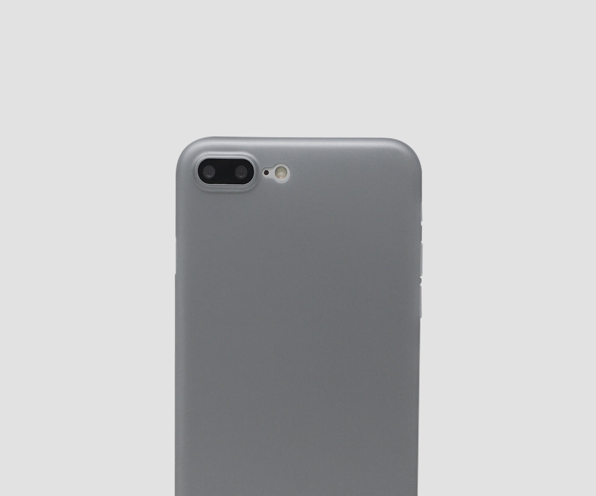 Cool Grey iPhone 7 Plus & 8 Plus ultra thin case