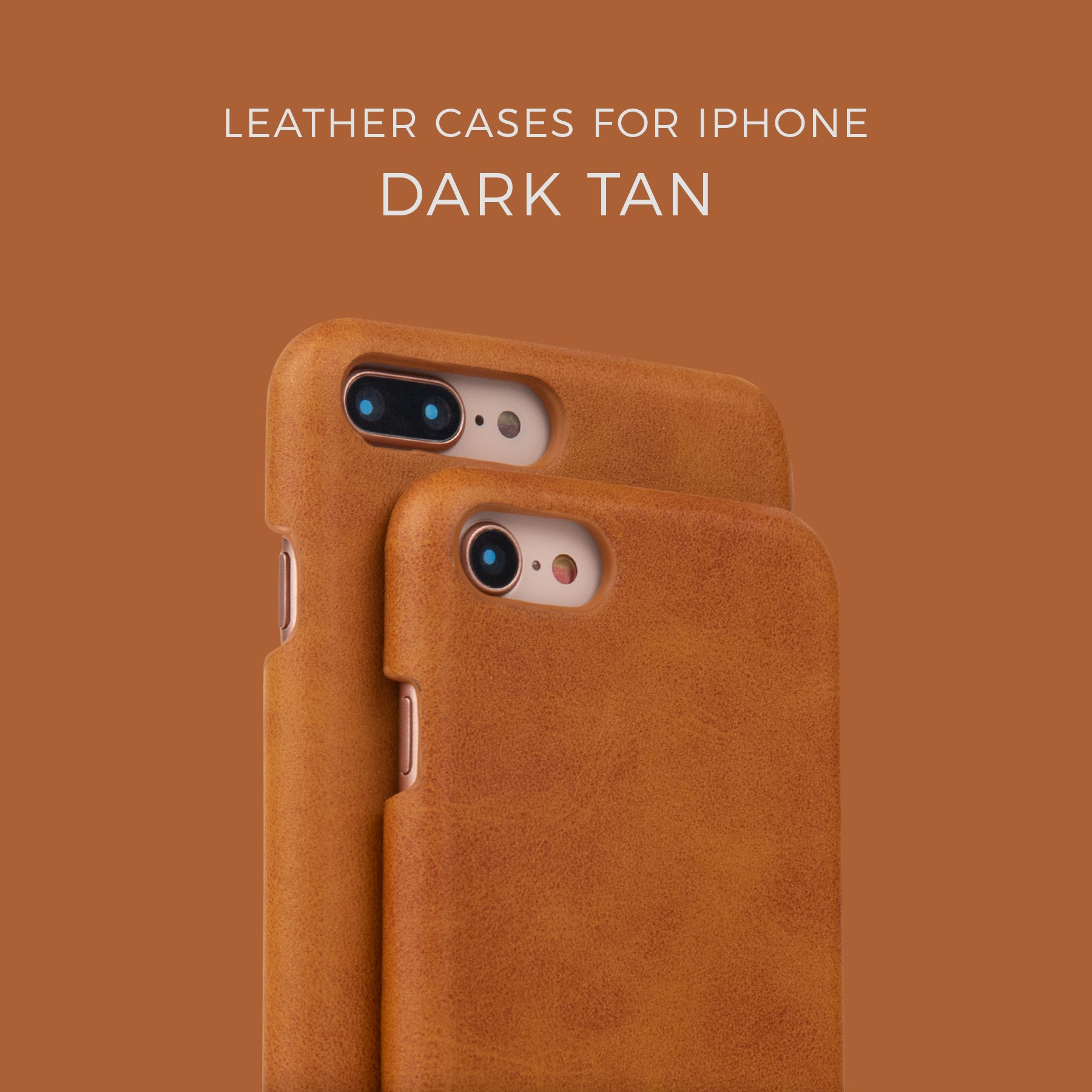Dark Tan Leather Case