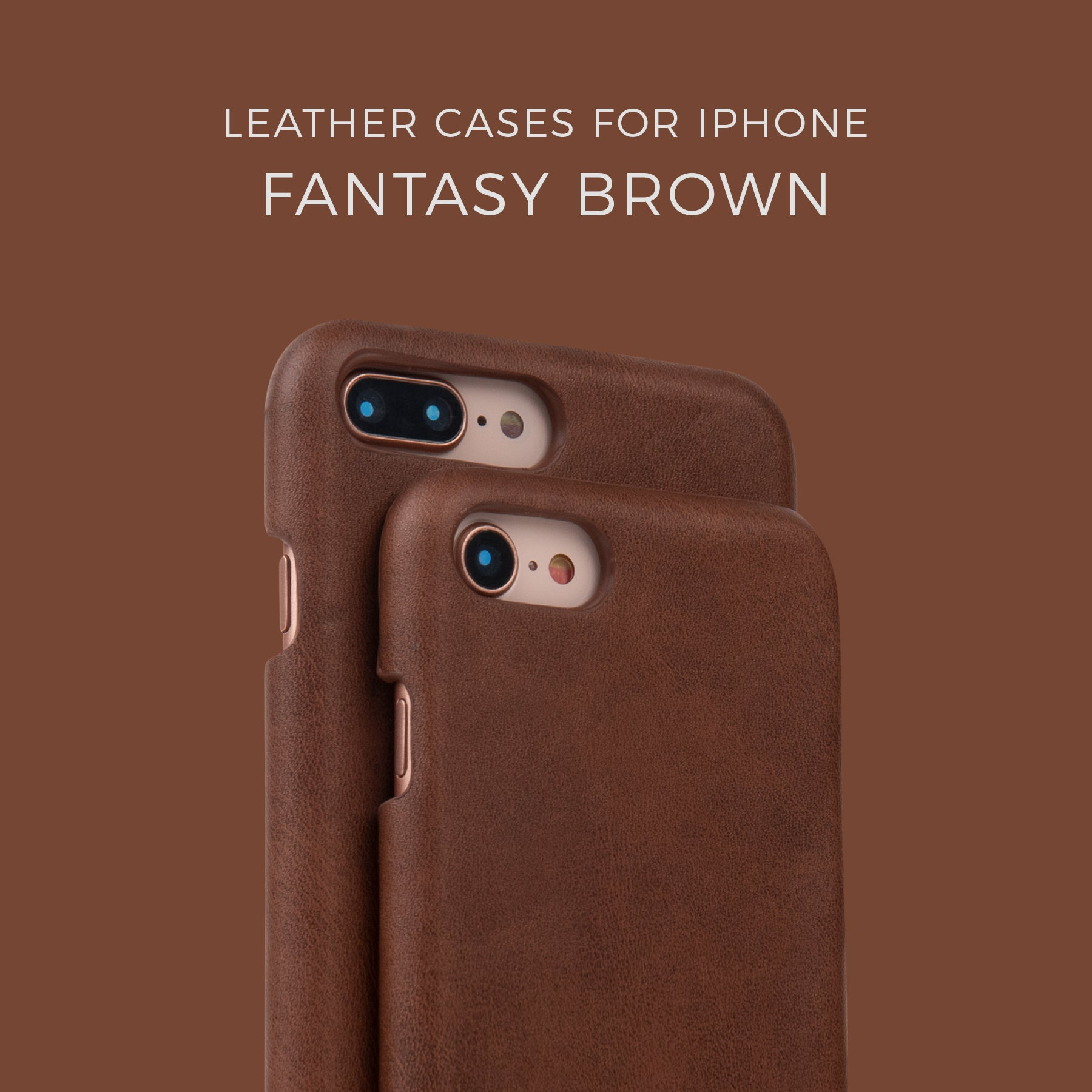 Fantasy Brown Leather Case