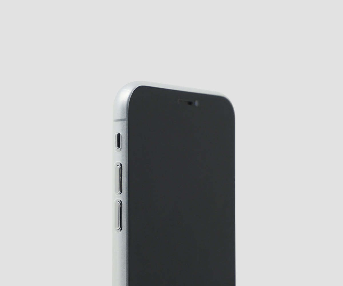 Frosted Transparent - iPhone X ultra thin case