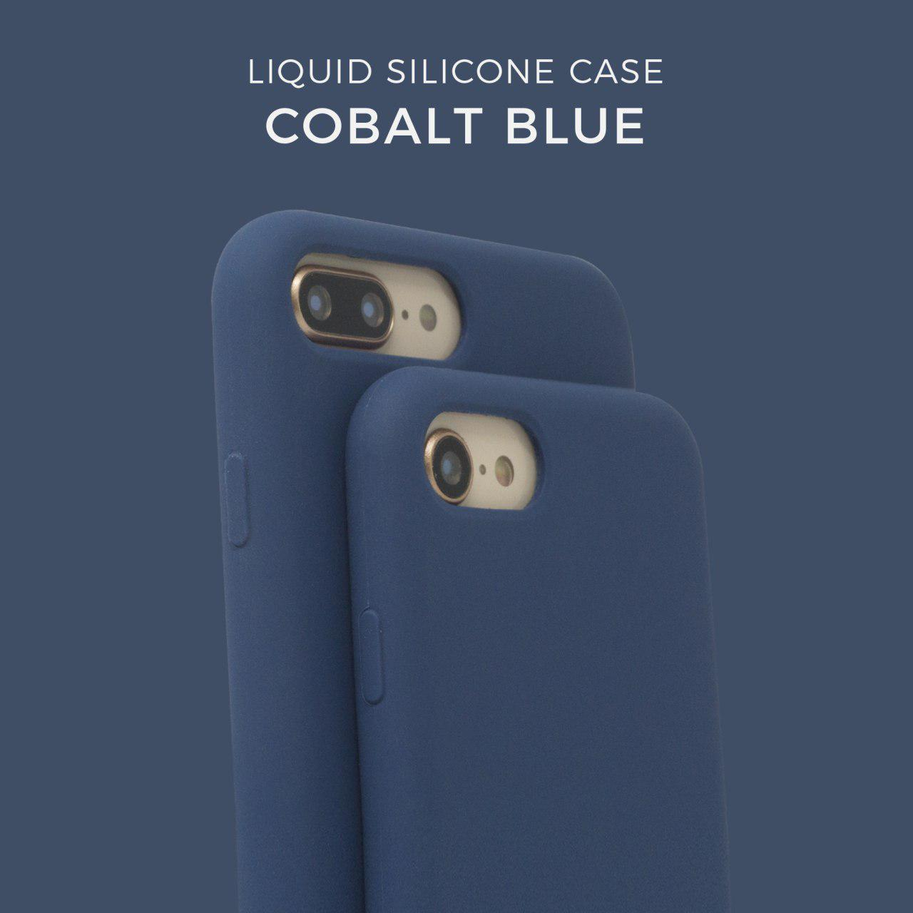 Liquid Silicone case Coblat Blue
