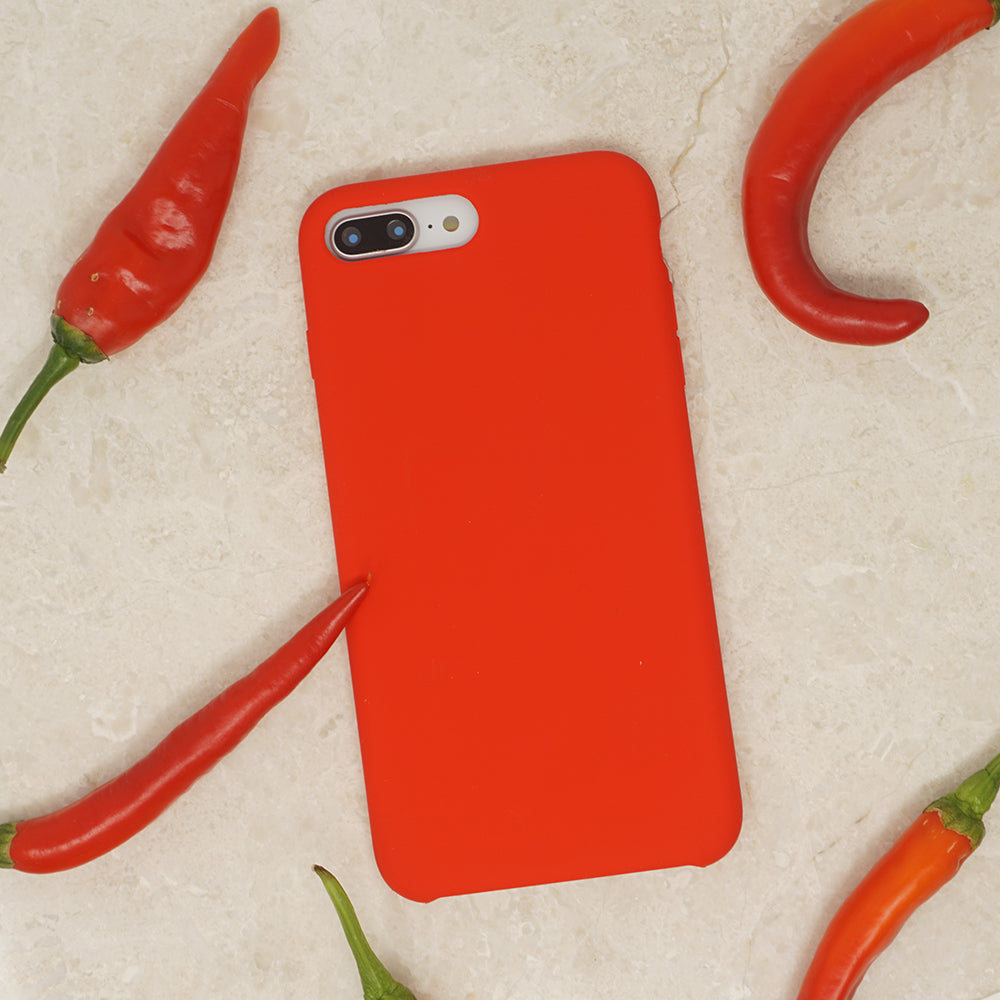 Silicone case with Red Chilli Protects Casedodo