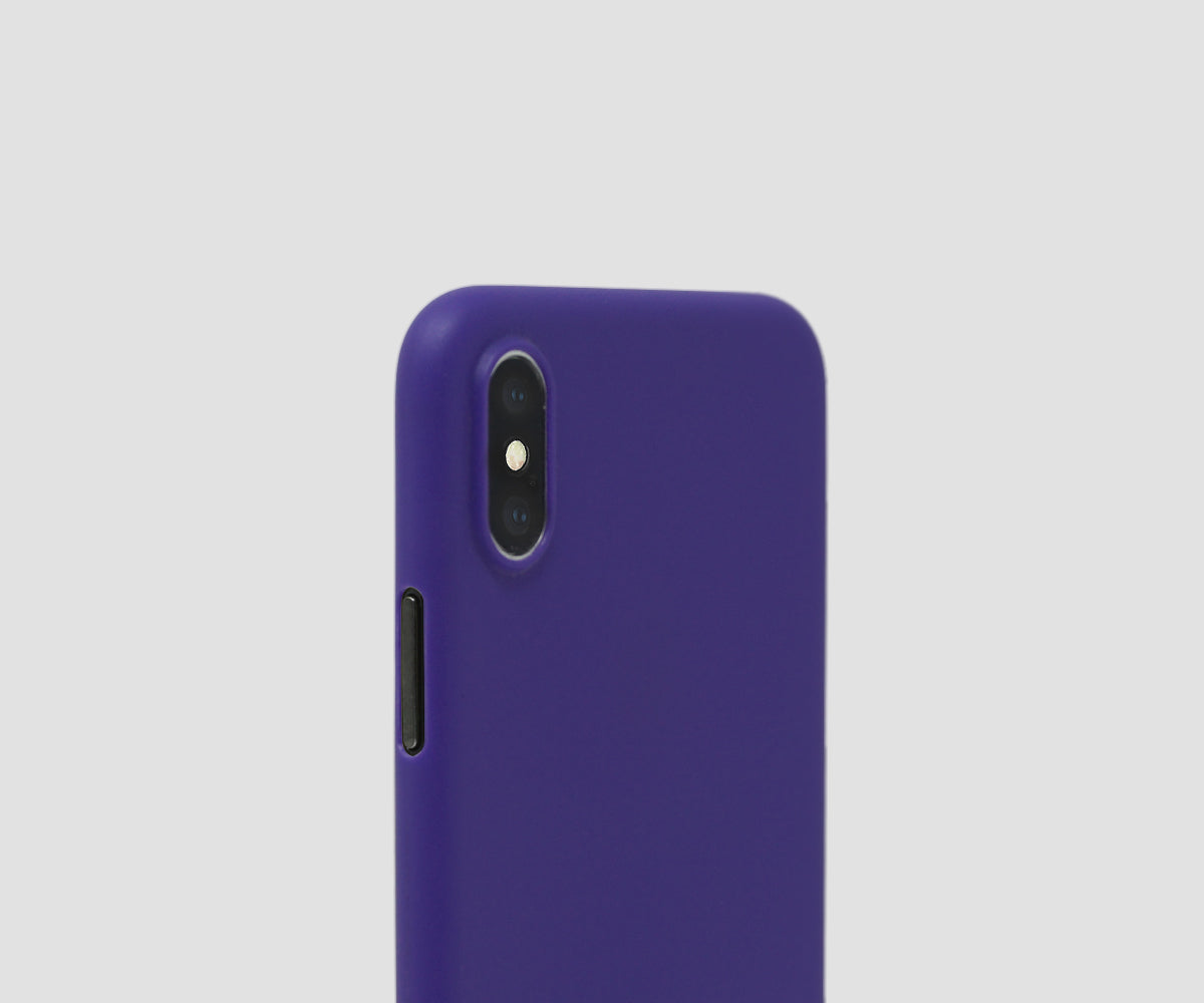 Ultra Violet - iPhone X ultra thin case