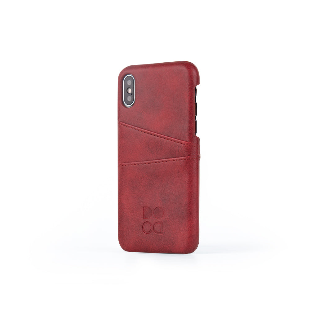 Leather case for iPhone