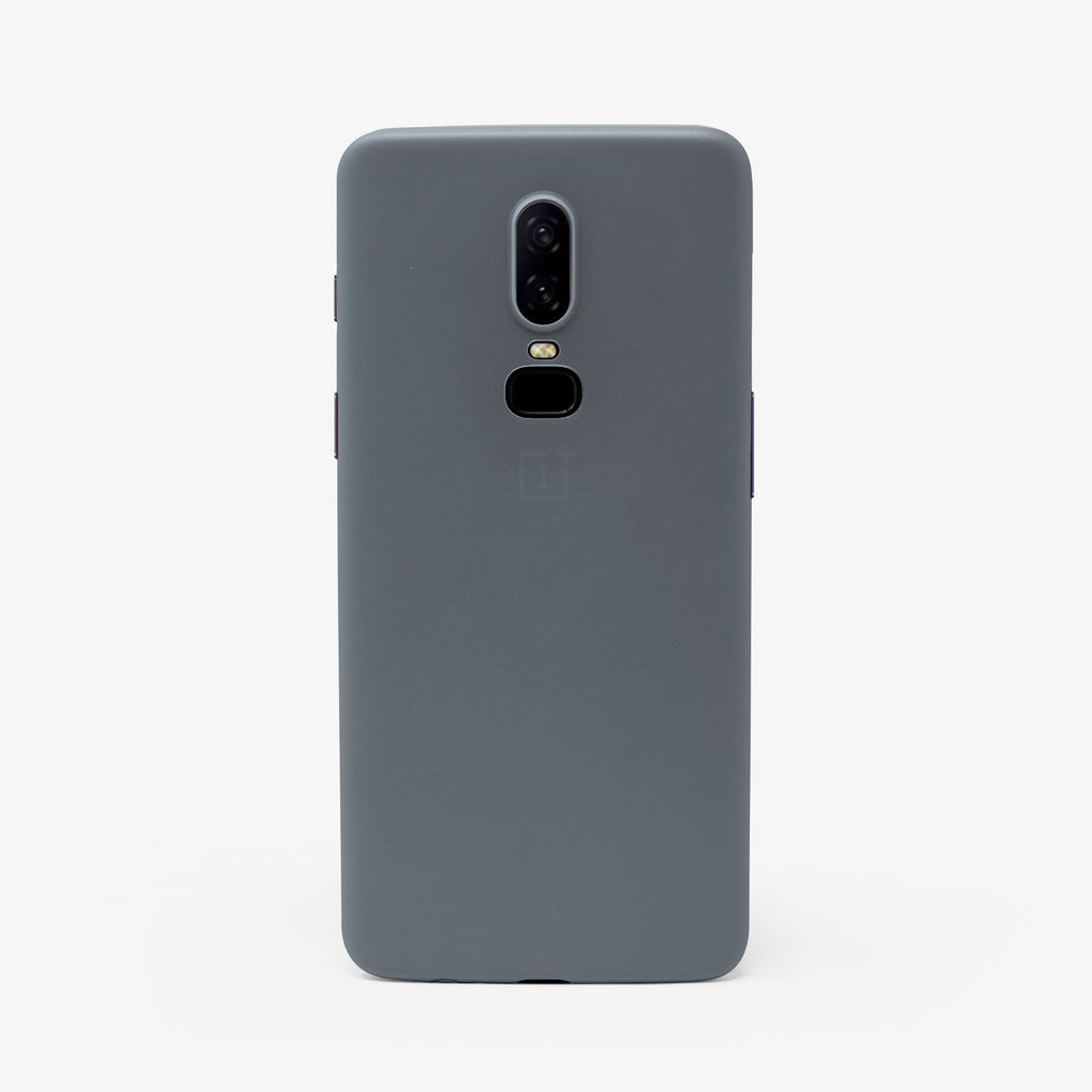 Frosted Transparent - OnePlus 6 thin case