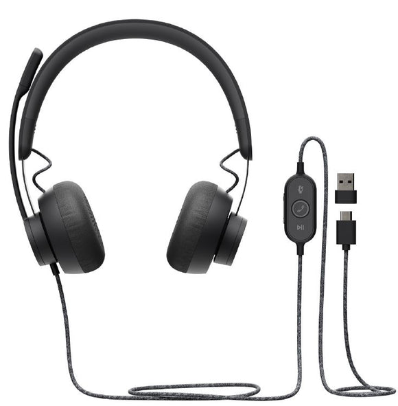 Logitech usb headset Zone Wired