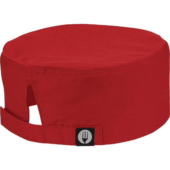 Horeca A956 Chef Works Cool Vent beanie rood A956