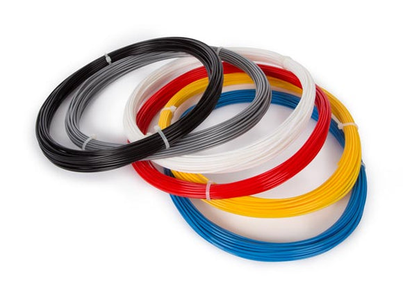 VELLEMAN ABS175SET6 SET MET ABS-FILAMENT 1.75 MM - 6 KLEUREN - VOOR 3D-PRINTER EN 3D-PEN