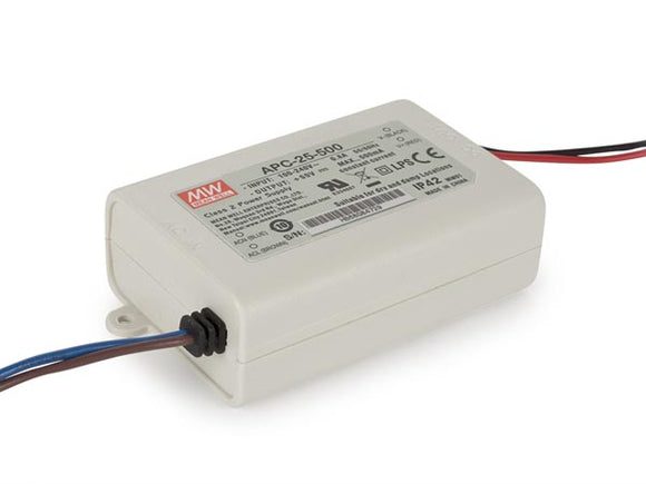 VELLEMAN APC-25-500 CONSTANT CURRENT LED DRIVER - SINGLE OUTPUT - 500 MA - 25 W
