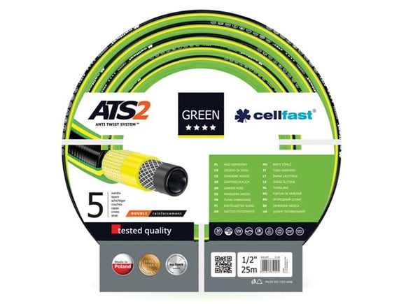 VELLEMAN CF15-100 CELLFAST - TUINSLANG - GREEN ATS2™ - 1/2