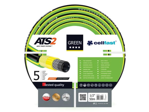 VELLEMAN CF15-101 CELLFAST - TUINSLANG - GREEN ATS2™ 1/2