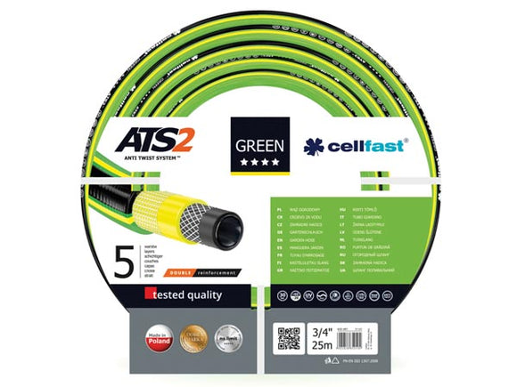 VELLEMAN CF15-120 CELLFAST - TUINSLANG - GREEN ATS2™ - 3/4