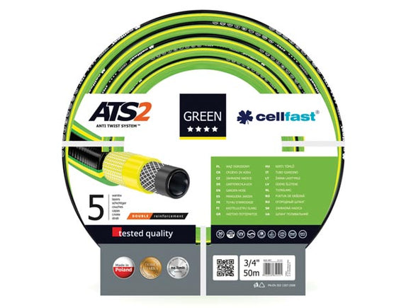 VELLEMAN CF15-121 CELLFAST - TUINSLANG - GREEN ATS2™ - 3/4