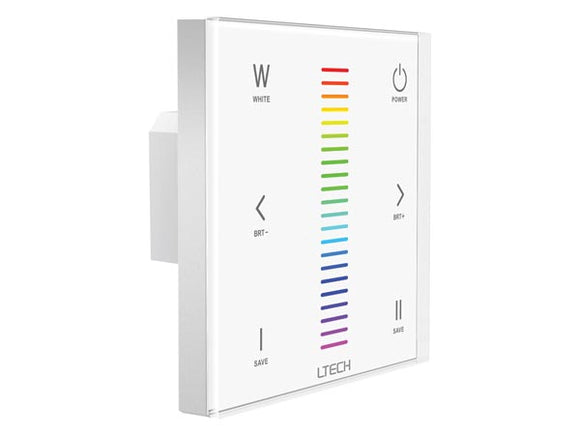 VELLEMAN CHLSC33TX TOUCHPANEL LED-DIMMER VOOR RGBW-LED - DMX / RF