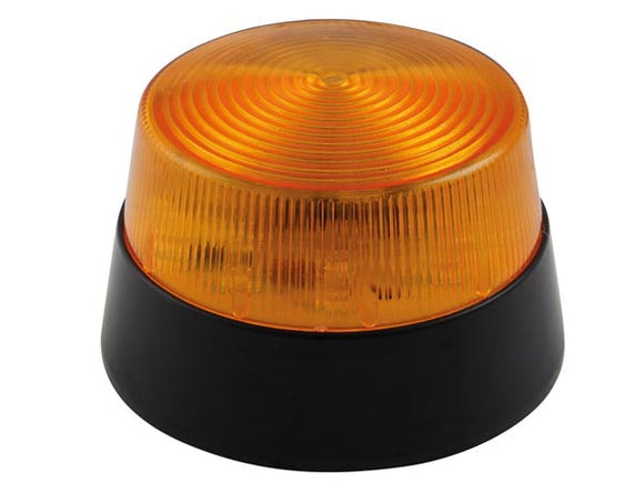 VELLEMAN HAA40AN LED-KNIPPERLICHT - AMBER - 12 VDC - Ø 77 MM