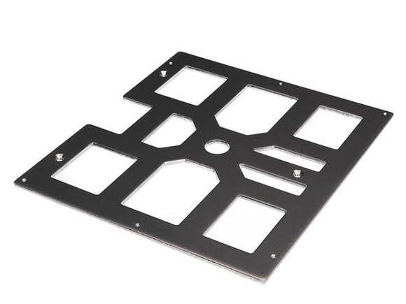 VELLEMAN K8400-BP BED PLATE FOR 3D PRINTING (VERTEX ORIGINAL K8400 240 X 215 X 4 MM / 9,45? X 8,46? X 0,16?)