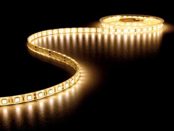 VELLEMAN LQ12W230WW35N FLEXIBELE LED STRIP - WARM WIT 3500K - 300 LEDS - 5M - 12V