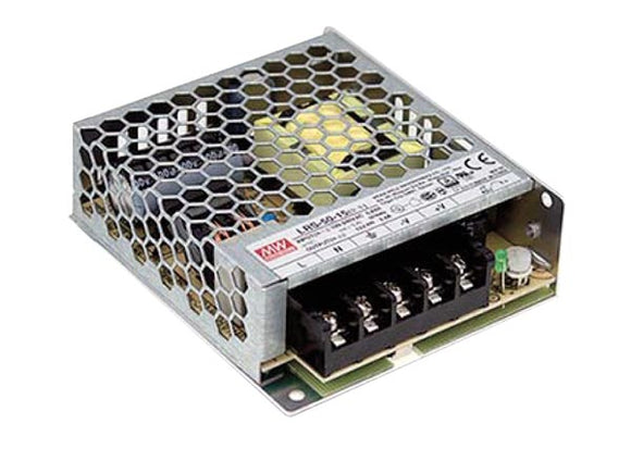 VELLEMAN LRS-50-24 ITE SWITCHING POWER SUPPLY - SINGLE OUTPUT - 50 W - 24 V - CLOSED FRAME - FOR PROFESSIONAL USE ONLY