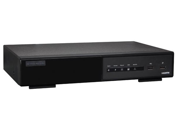 VELLEMAN NVR3 IP-NETWERK-VIDEORECORDER - HD - 4 KANALEN - EAGLE EYES - ETS - SWITCH POE - 1.3 MP