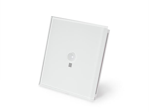 VELLEMAN VMBELPIR-PF VELBUS VMBELPIR-PF EDGE LIT CONTROL MODULE WITH MOTION AND TWILIGHT SENSOR • PURE WHITE FROSTED