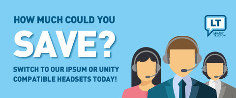 Unity: save with our compatible headset solutions