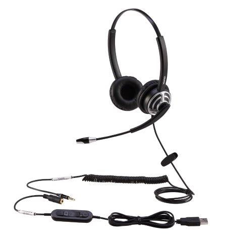 Home Working Kit with USB/ Mobile Headset & Webcam