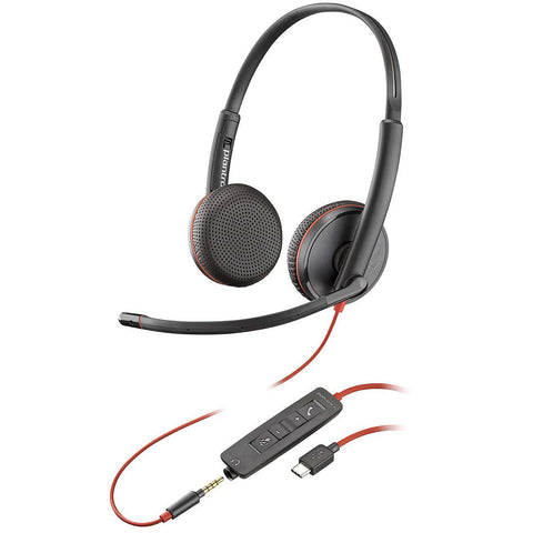 Plantronics Blackwire C3225 USB - Legacy Headsets