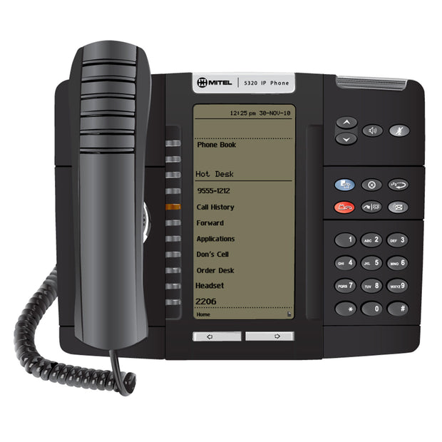 Mitel 5320E IP Phone - Legacy Headsets