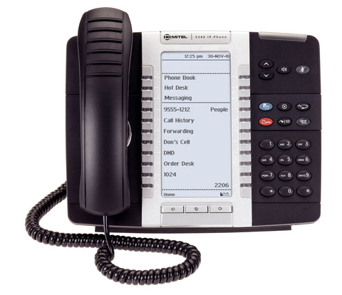 Mitel 5330E IP Phone - Legacy Headsets