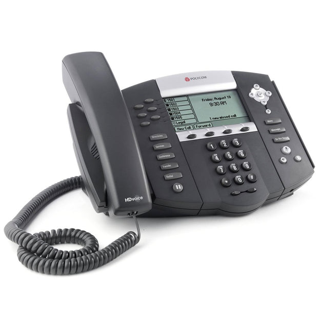 Polycom SoundPoint IP 650 Phone - Legacy Headsets