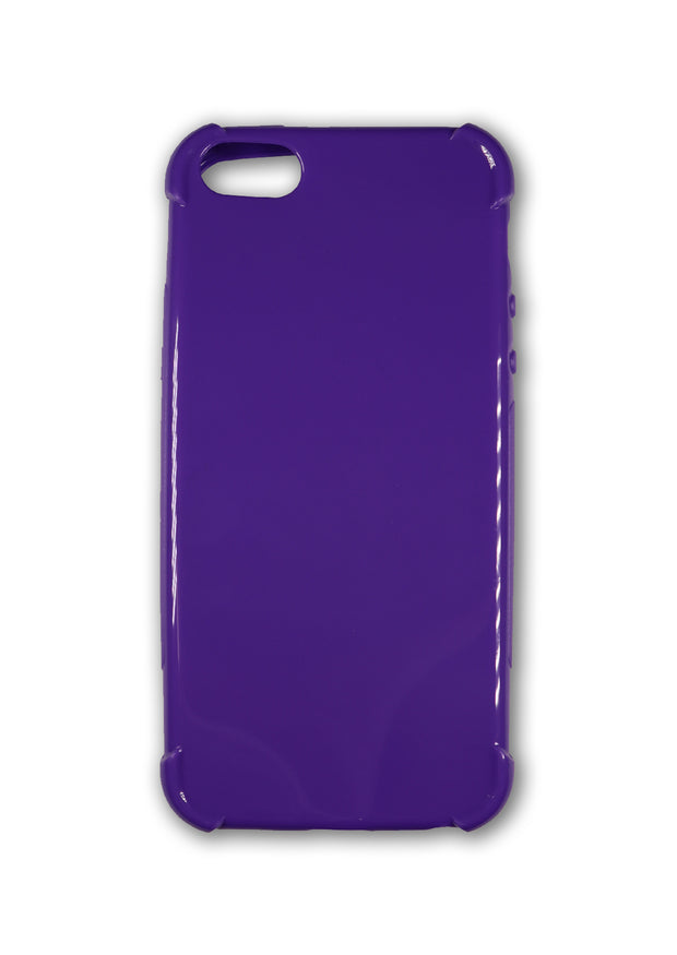 Purple iPhone 5/5s Gel Case - Legacy Headsets